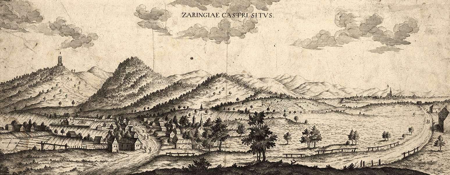 Zaringiae castri situs, Bild 1