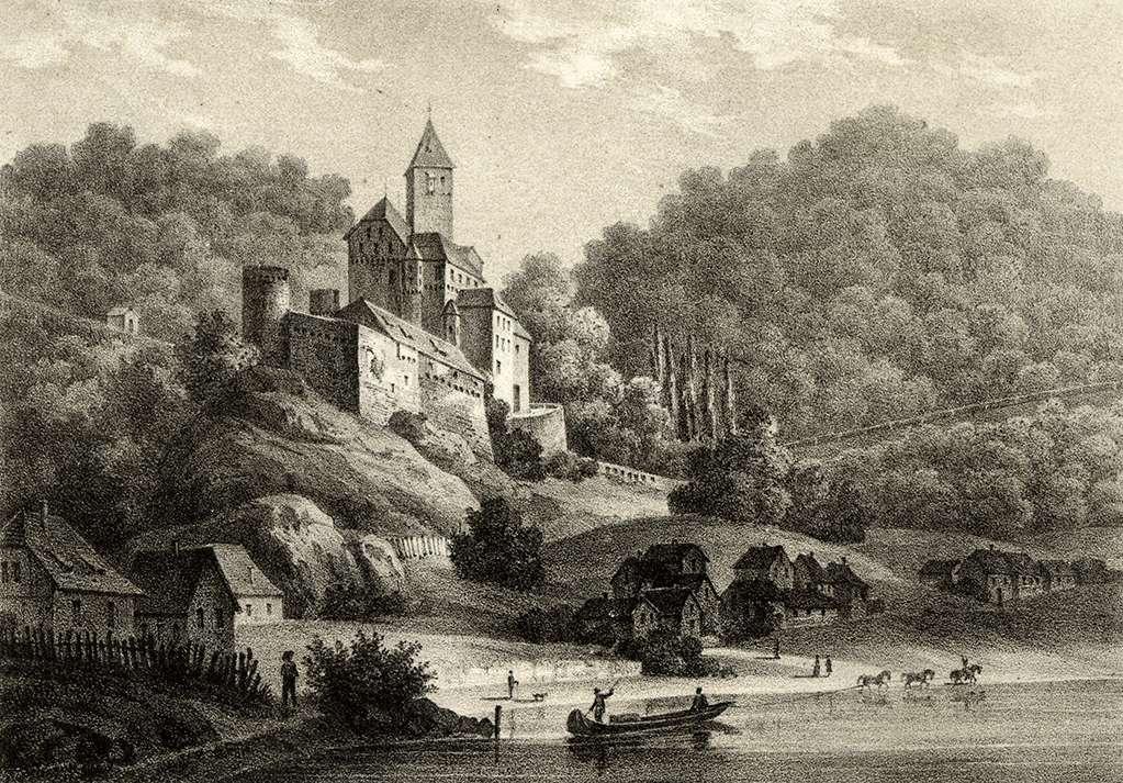 Zwingenberg von der Südseite, Bild 1