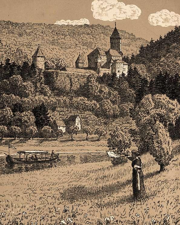 Schloß Zwingenberg a. N., Bild 1