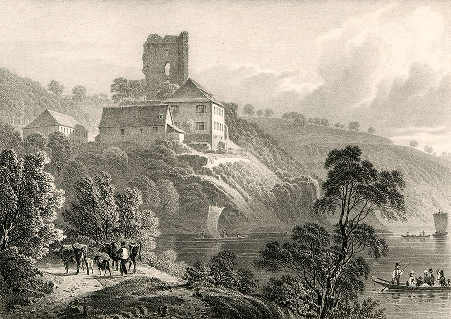 Chateau de Sponeck près vieux Brisac, Bild 1