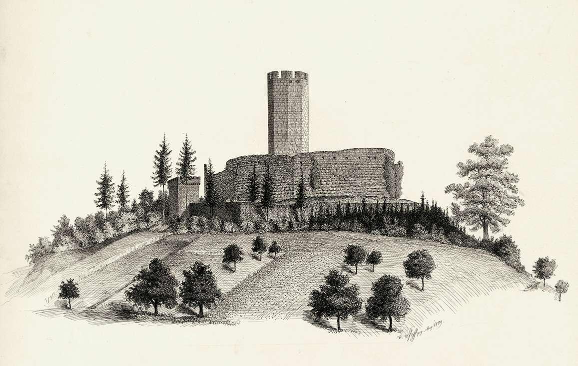 Burgruine, Bild 1
