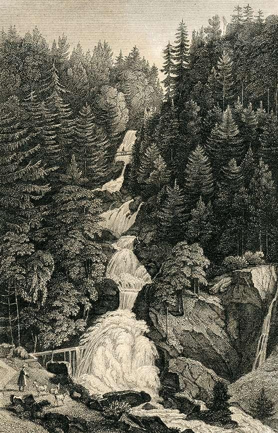 Wasserfall bei Tryberg, Bild 1