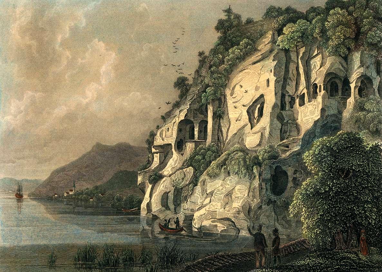 Die Heidenhöhlen bei Ueberlingen, Bild 1