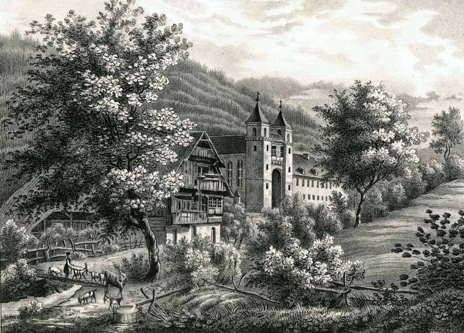 Das ehmalige Kloster bei Rippoldsau, Bild 1