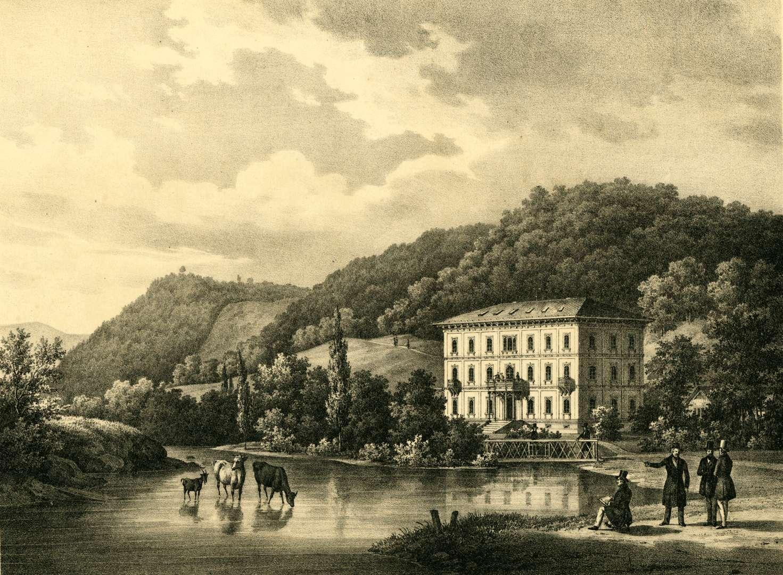 Kurgebäude der Elisabethenquelle bei Rothenfels, Bild 1