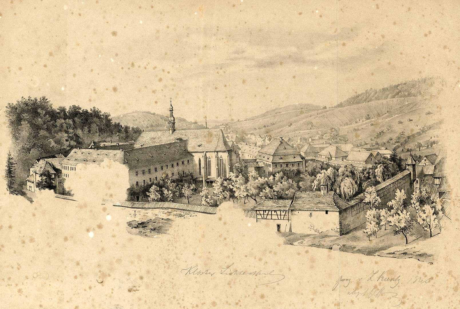 Kloster Lichtenthal, Bild 1