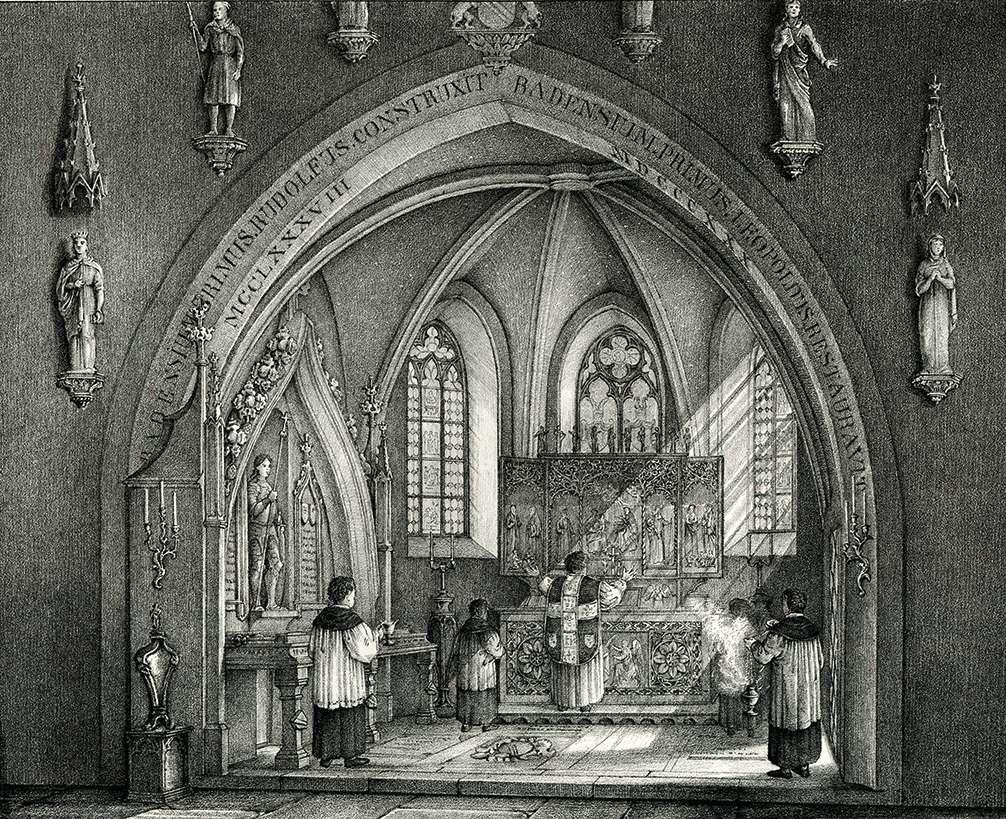 Chor der der Fürstlichen Todten Capelle zu Lichtenthal, Bild 1
