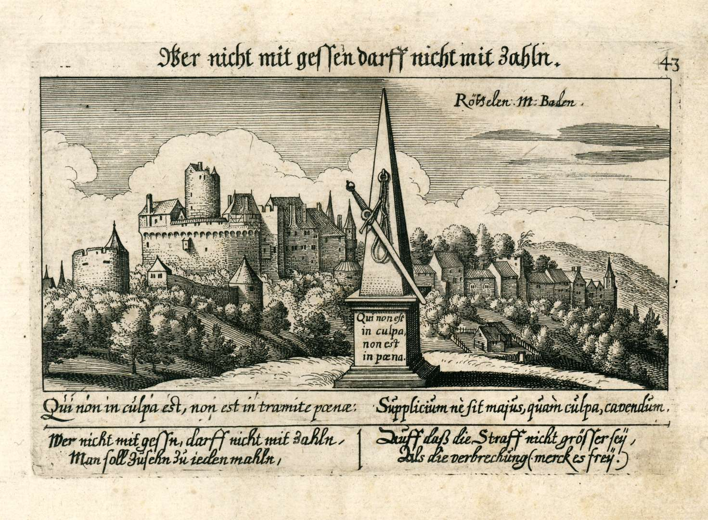 Röttelen M. Baden, Bild 1