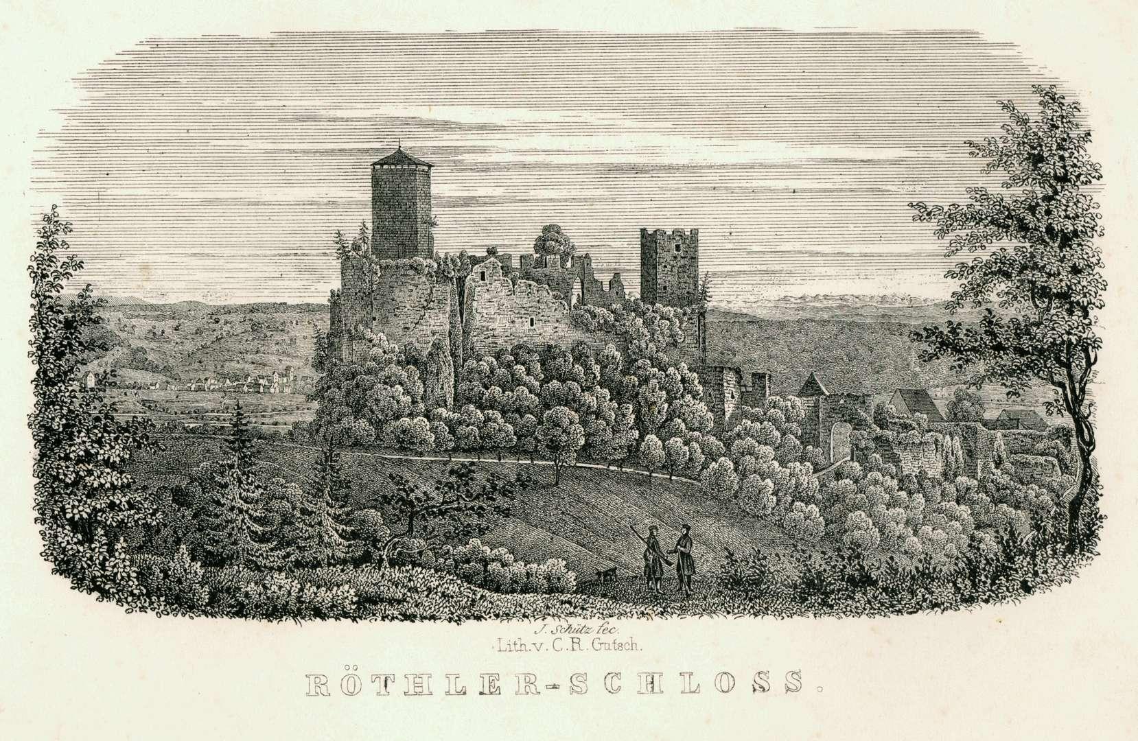 Röthler-Schloss, Bild 1