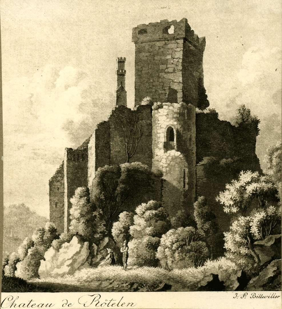 Chateau de Rötelen, Bild 1