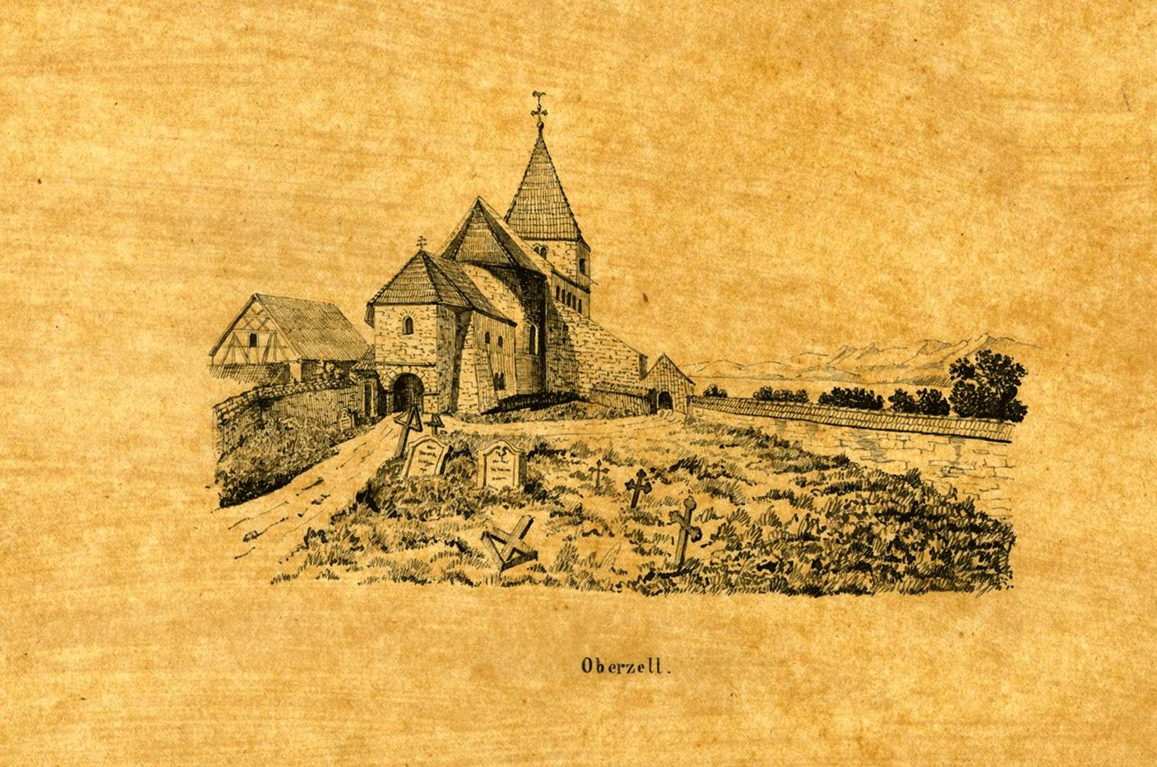 Oberzell, Bild 1