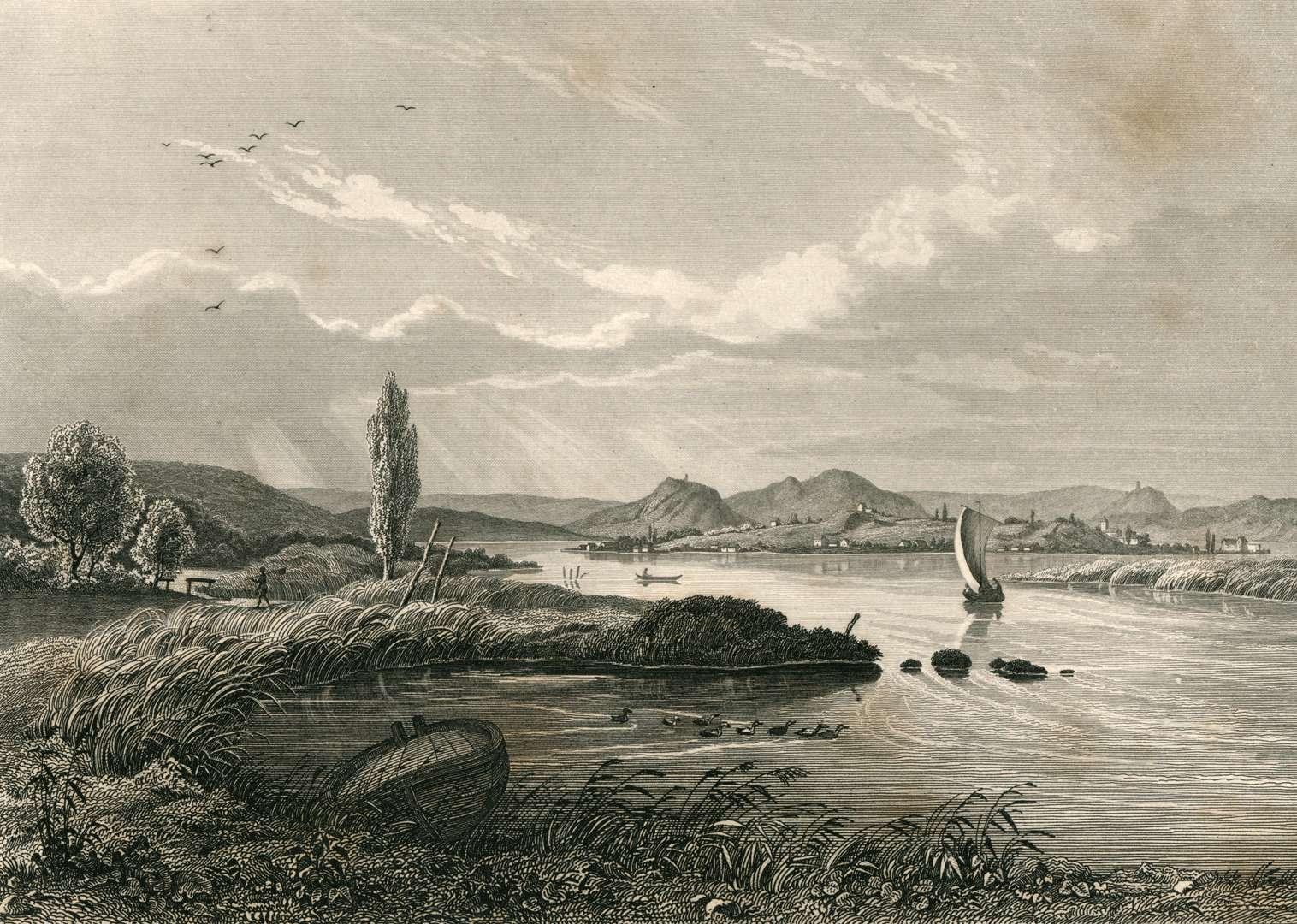 Die Insel Reichenau im Bodensee, L