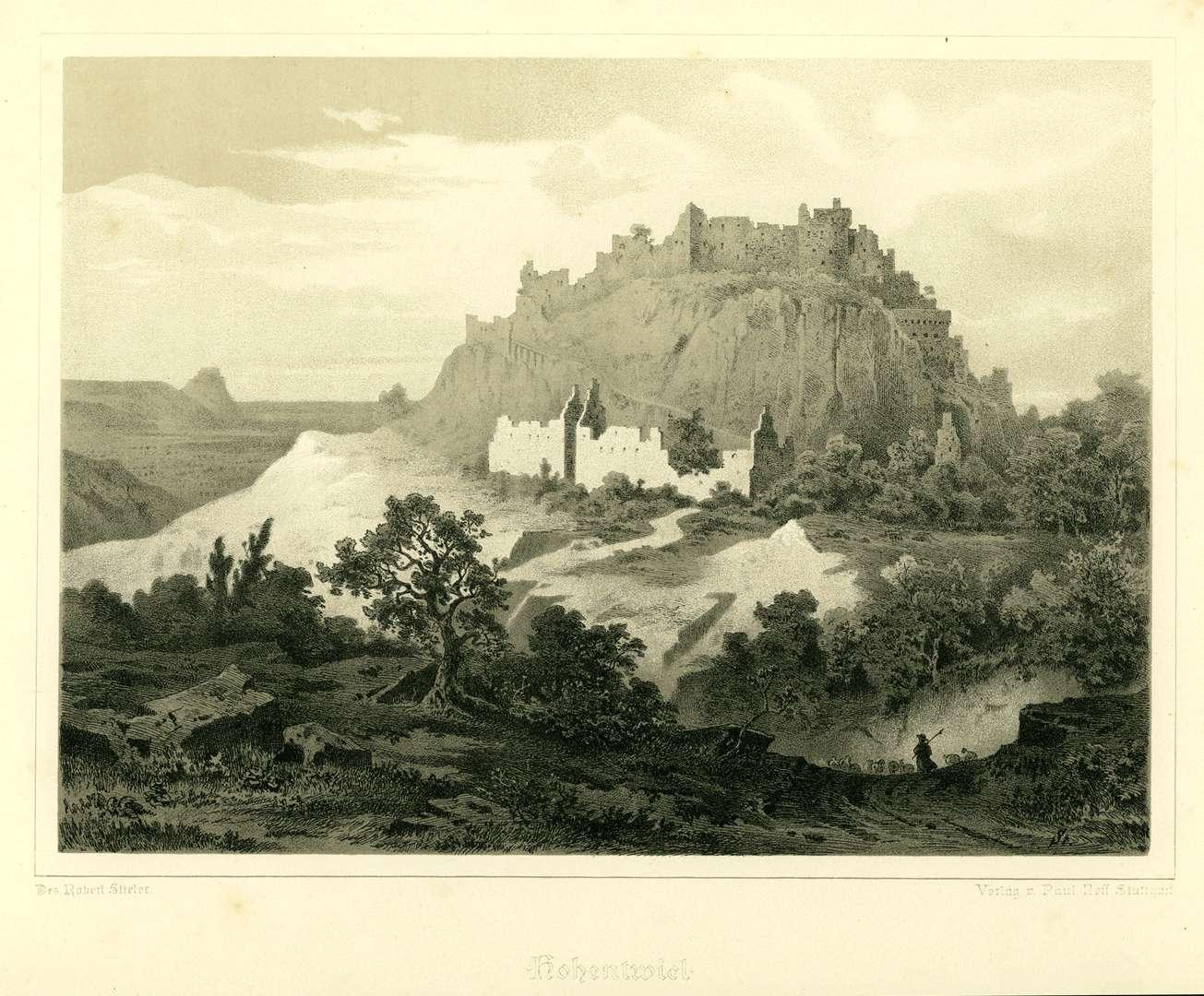 Hohentwiel von Südwesten, Bild 1