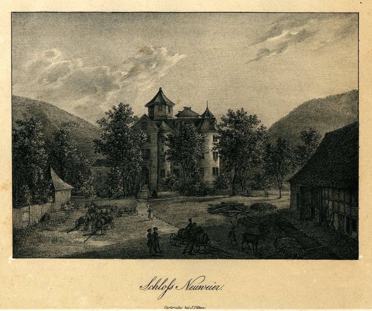 Schloss Neuweier, Bild 1