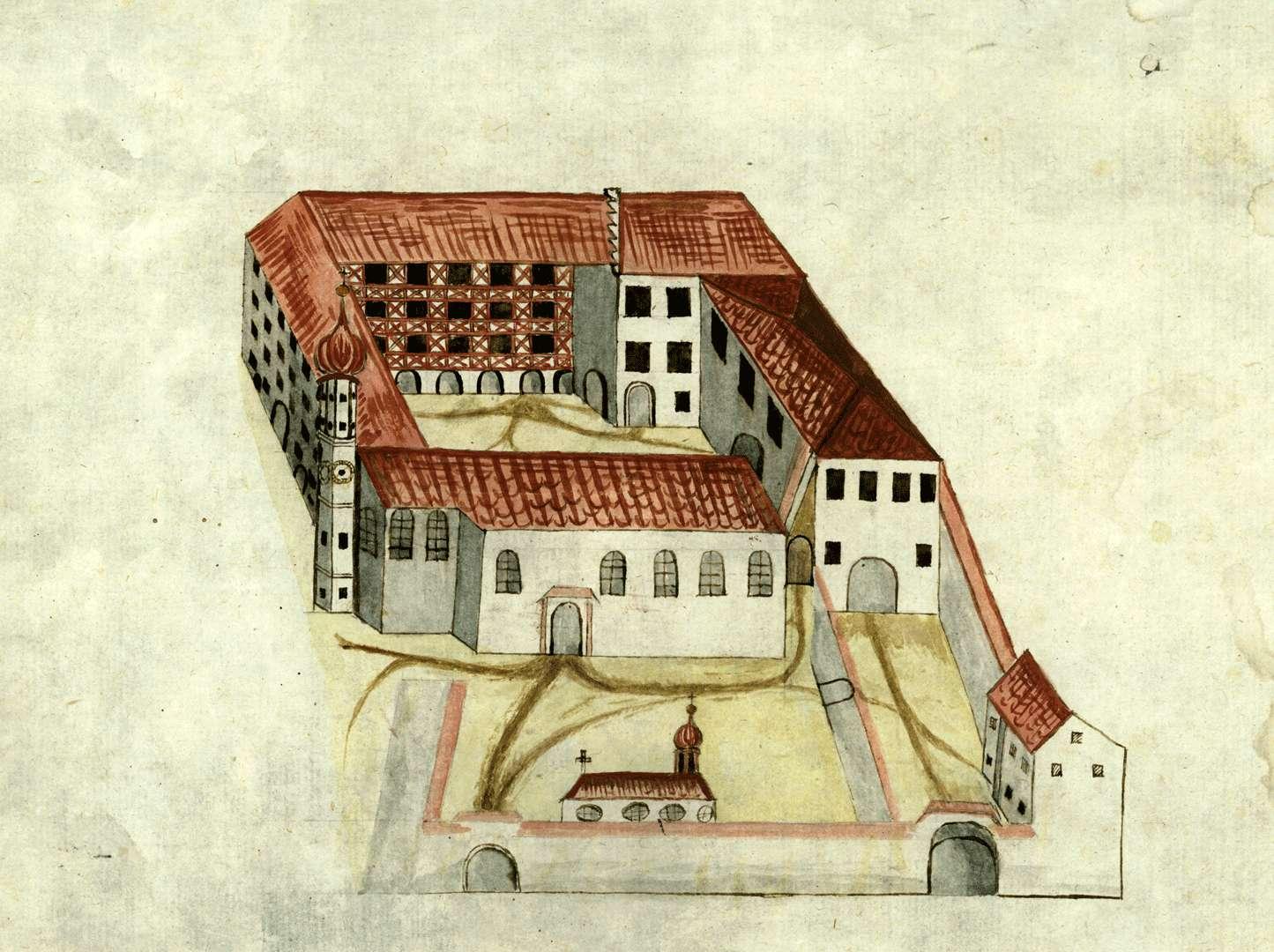 [Klostergebäude Öhningen], Bild 1