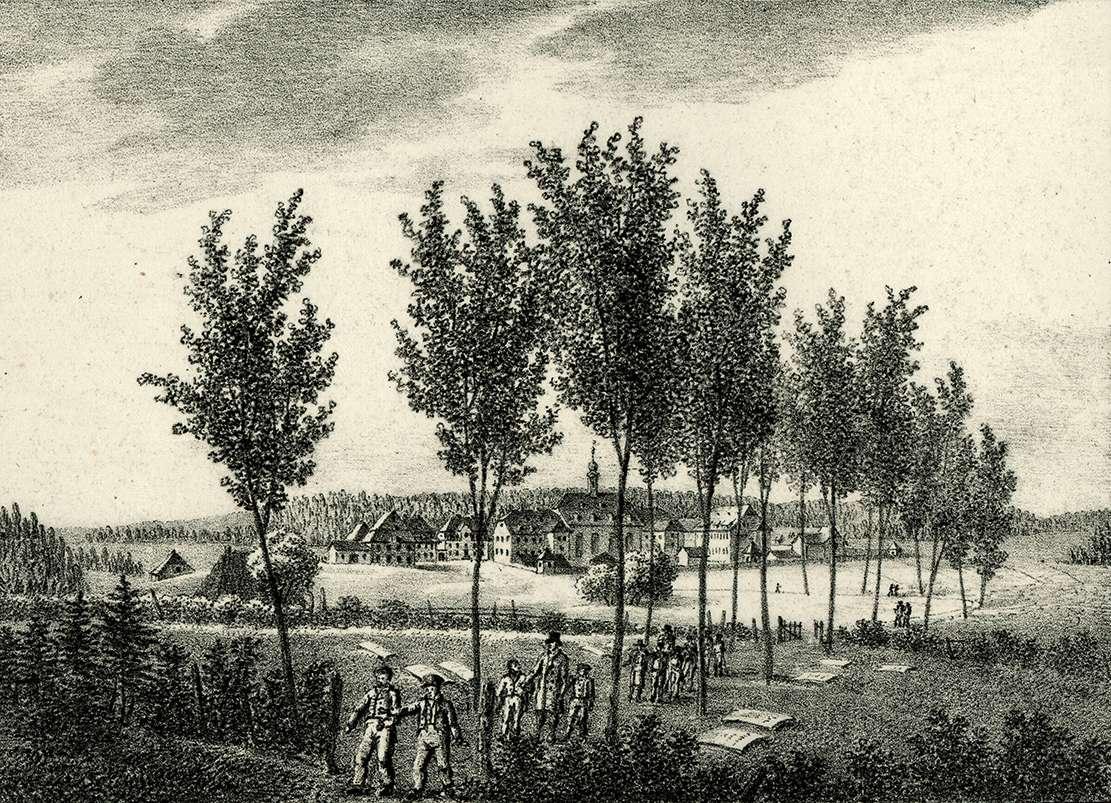 Ansicht von Königsfeld von der Nord-Ost-Seite, Bild 1