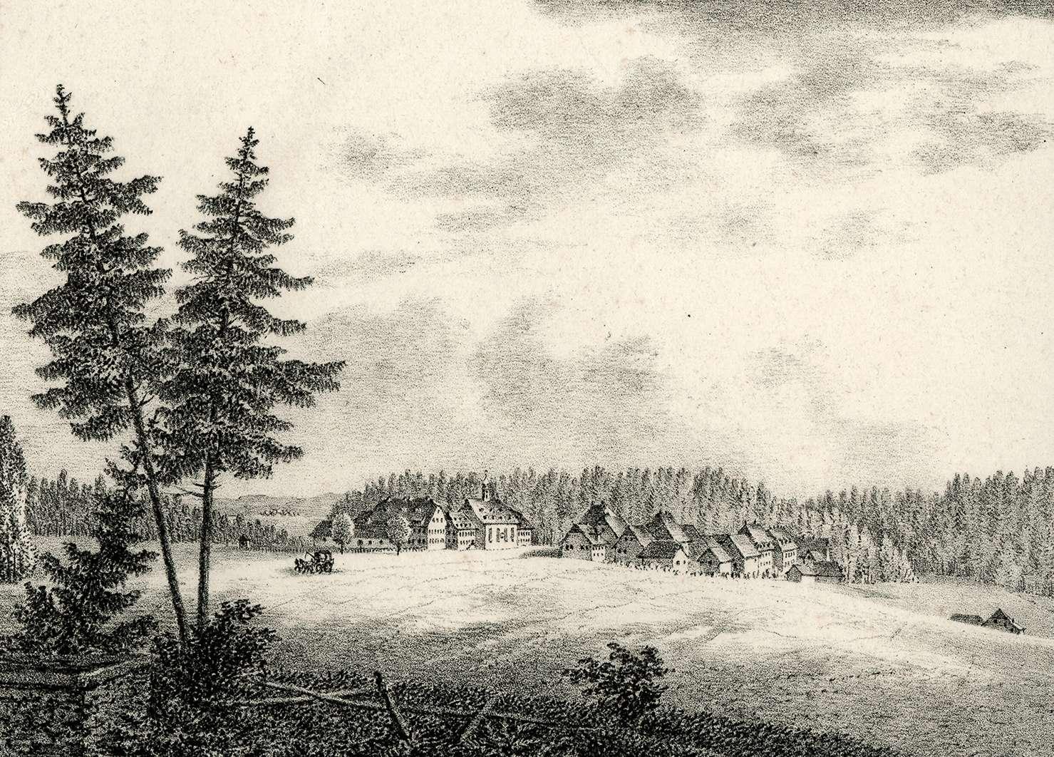 Ansicht von Königsfeld von der West-Seite, Bild 1