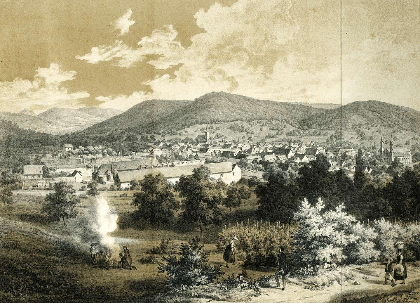 Ansicht von Lahr, Bild 1
