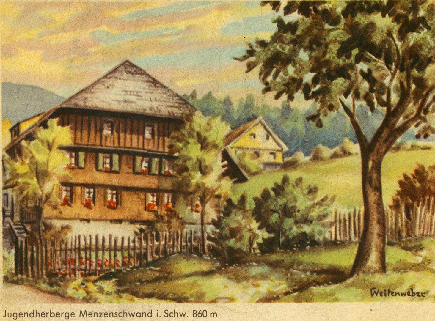 Jugendherberge Menzenschwand i. Schw. 860 m, Bild 1