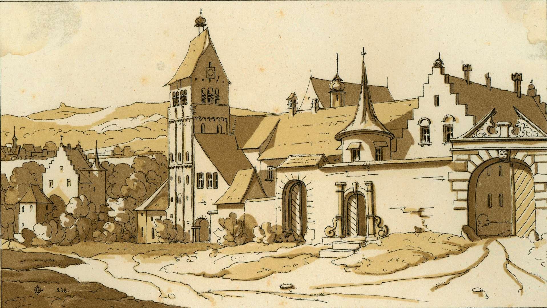 Münster zu Mittelzell auf der Insel Reichenau im Bodensee, Bild 1