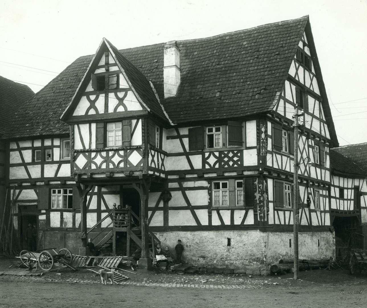 [Haus Nr. 101, Fachwerkbau von 1684], Bild 1