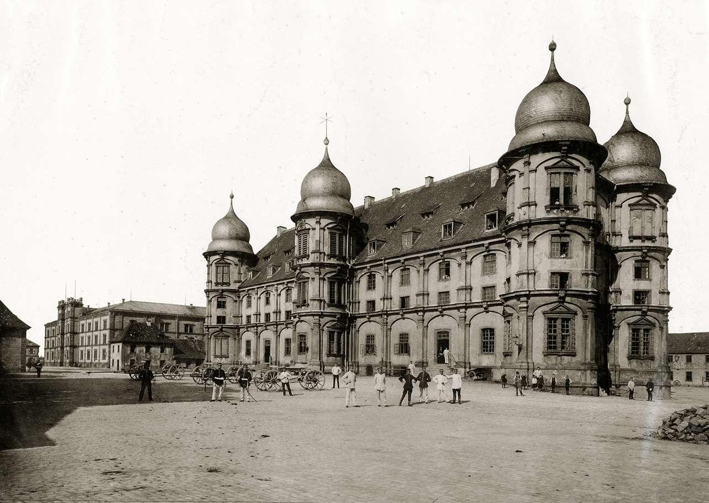 Kaserne Gottesau, Bild 1