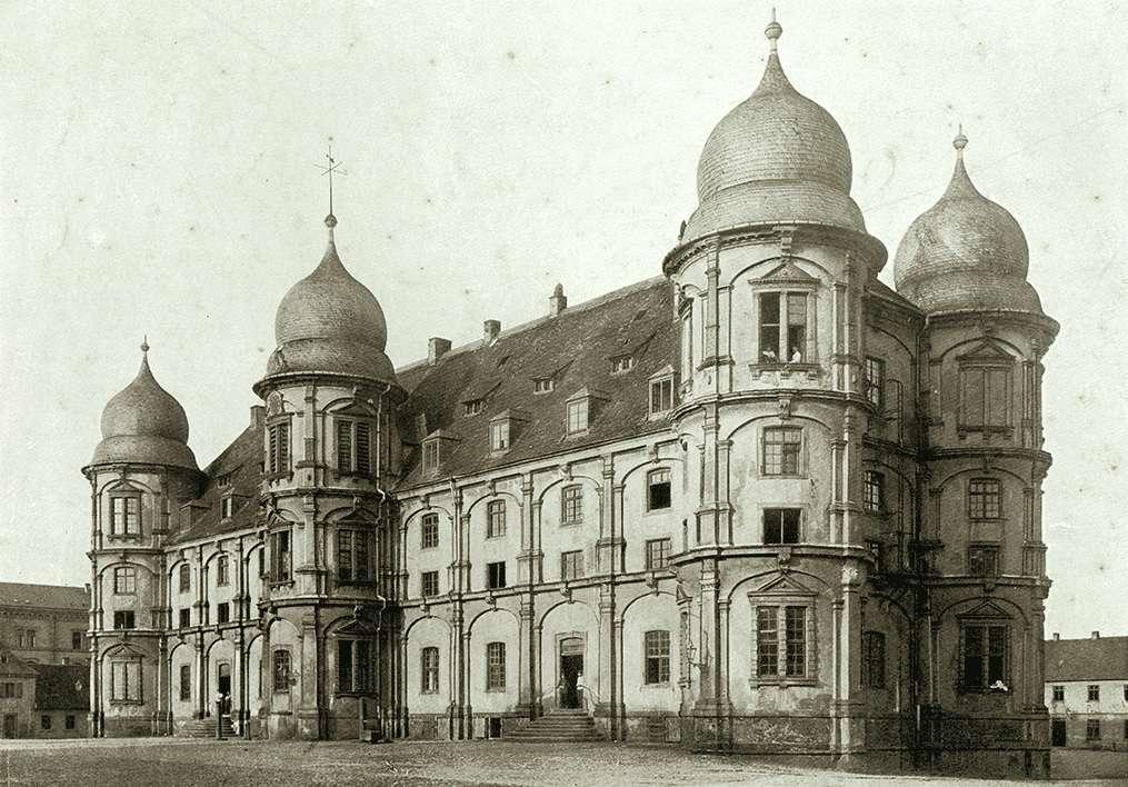 Das Schloß Gottesau bei Karlsruhe, Abbildung 21, Bild 1