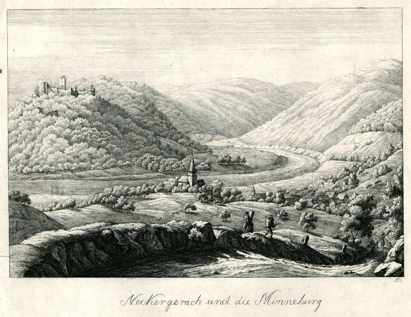 Neckergerach und die Minneburg, Bild 1