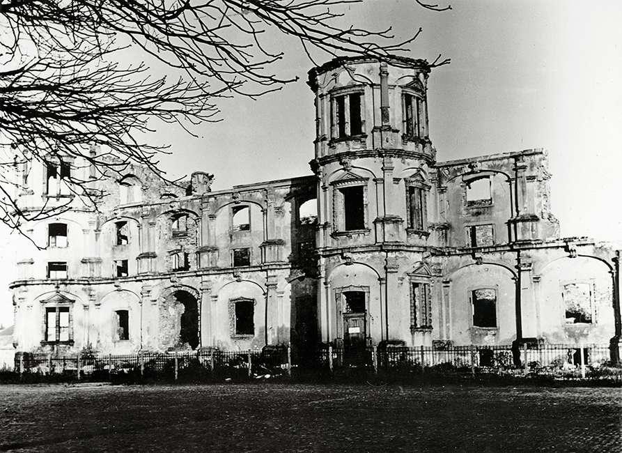 Ruine des Gottesauer Schlosses, Bild 1