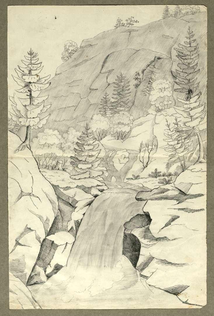 Die Wasserfälle, Bild 1