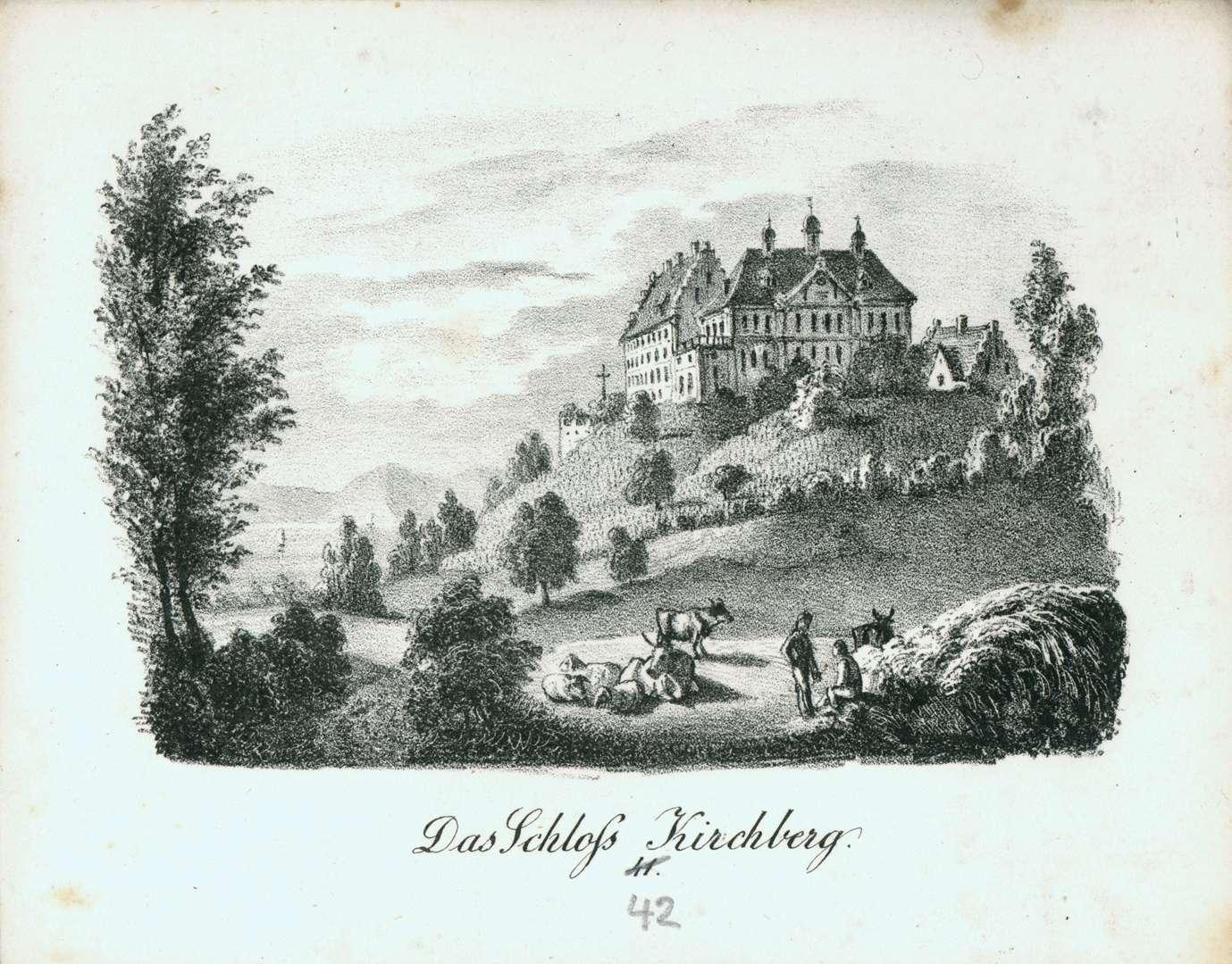 Das Schloss Kirchberg, Bild 1