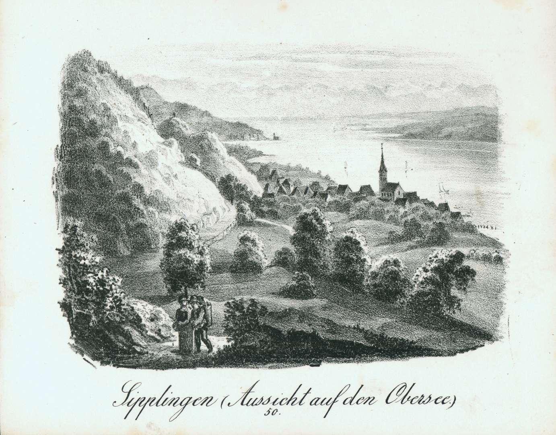 Sipplingen (Aussicht auf den Obersee), Bild 1
