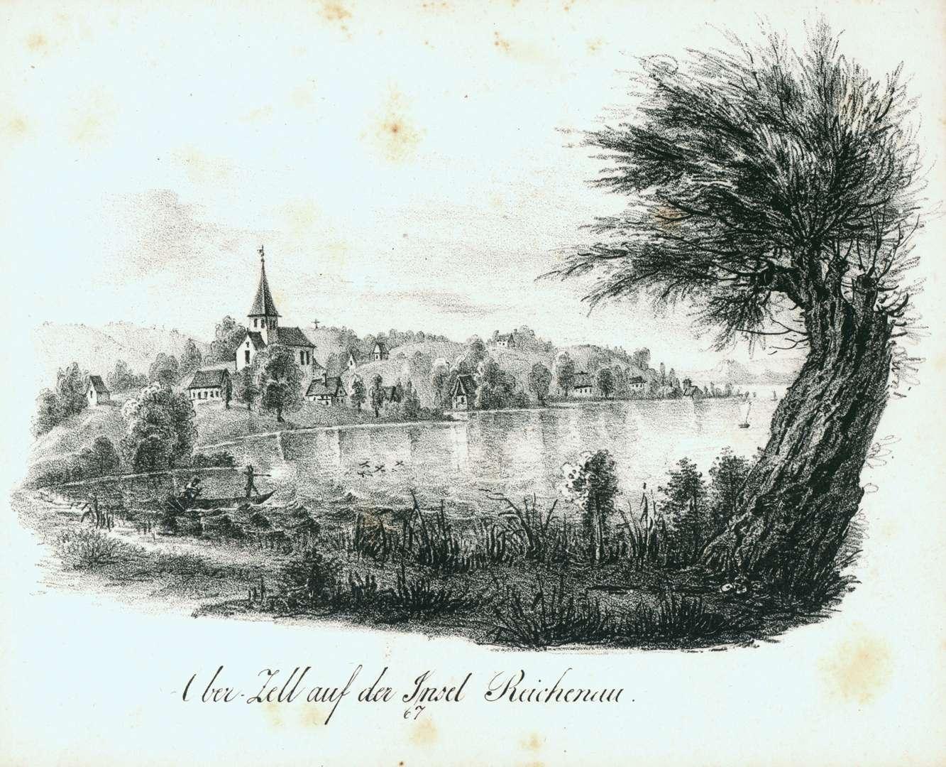 Ober-Zell auf der Insel Reichenau, Bild 1