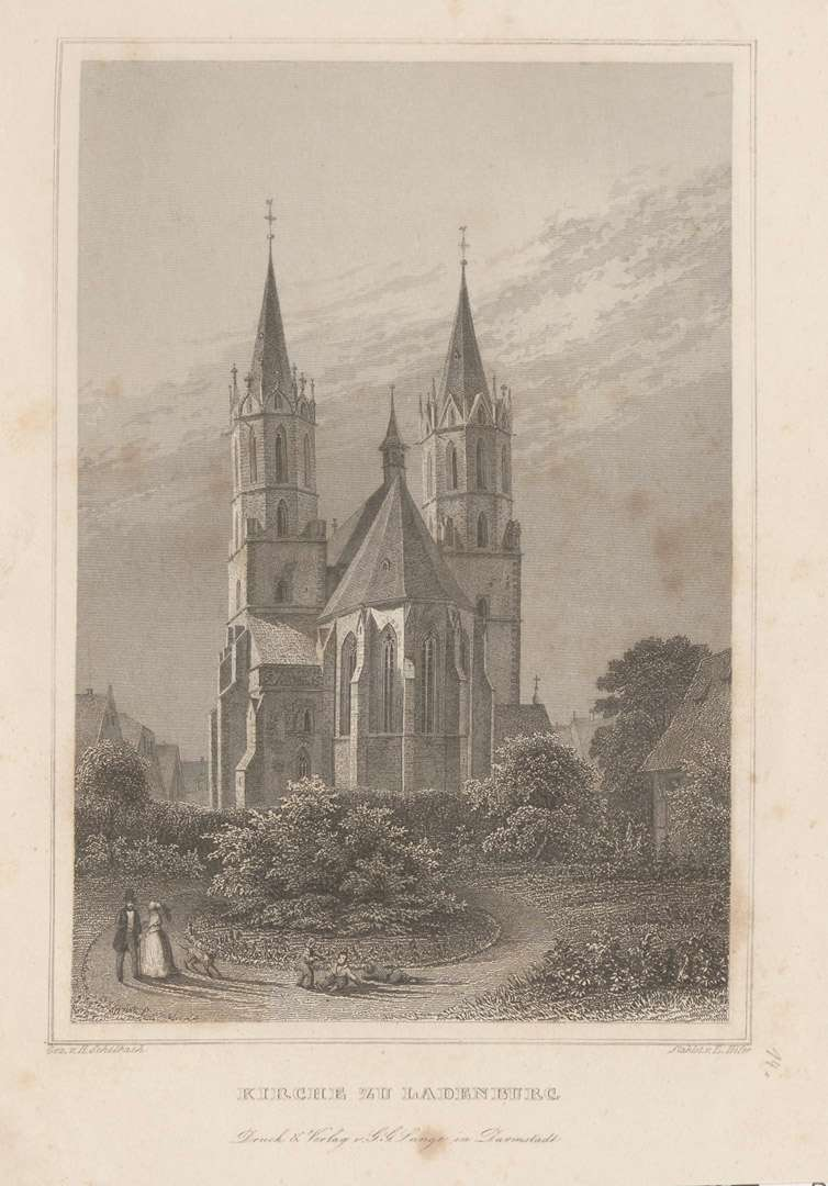 Kirche zu Ladenburg, Bild 1