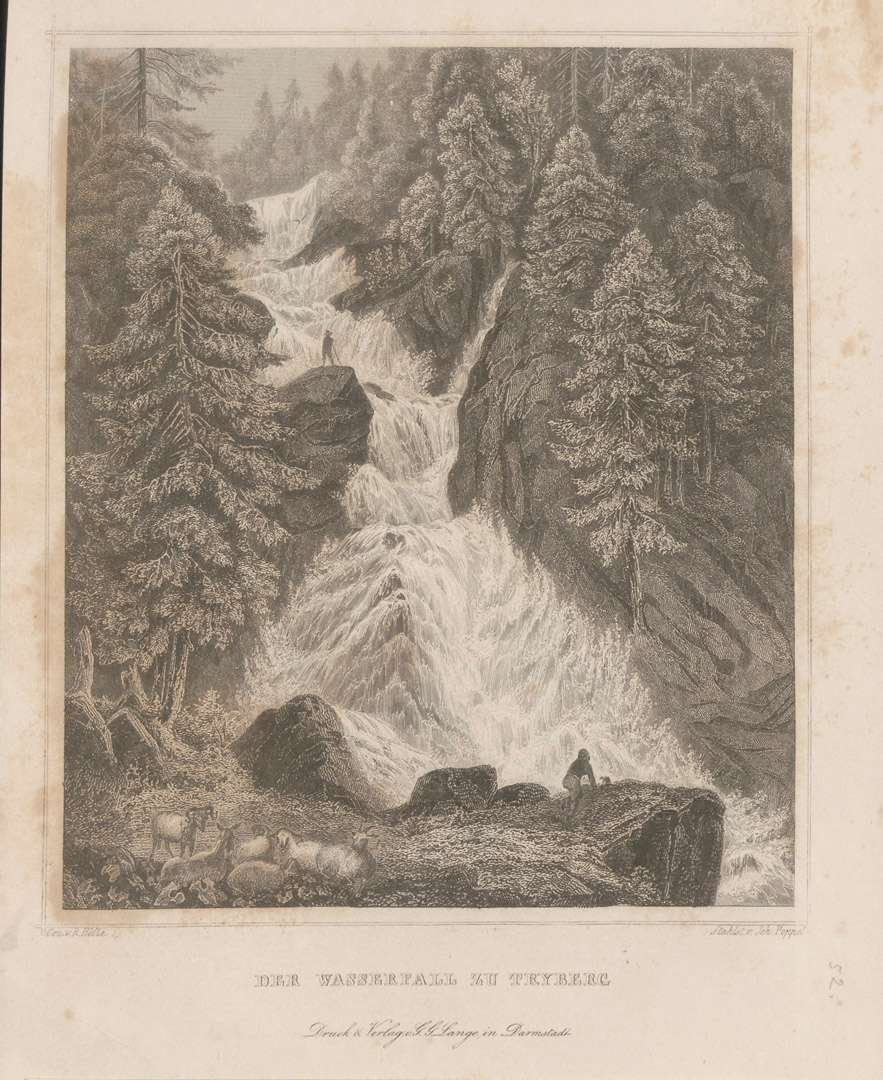 Der Wasserfall zu Triberg, Bild 1