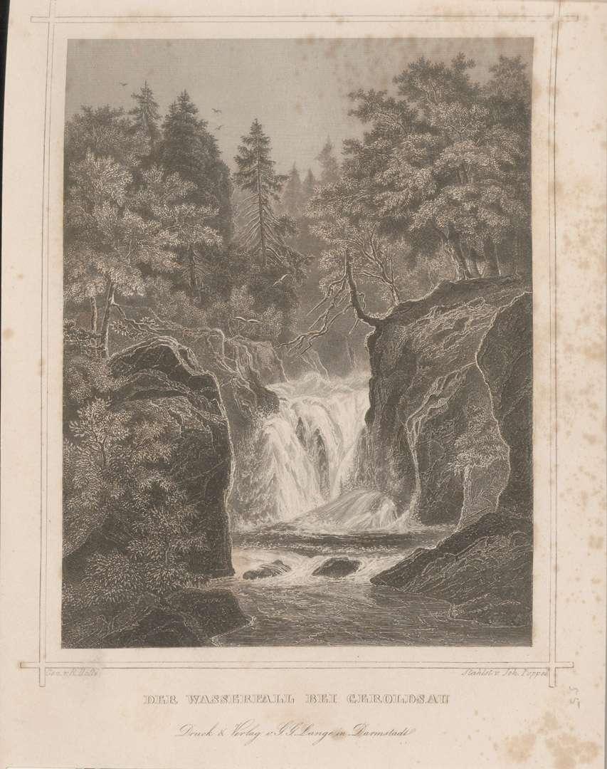 Der Wasserfall bei Geroldsau, Bild 1