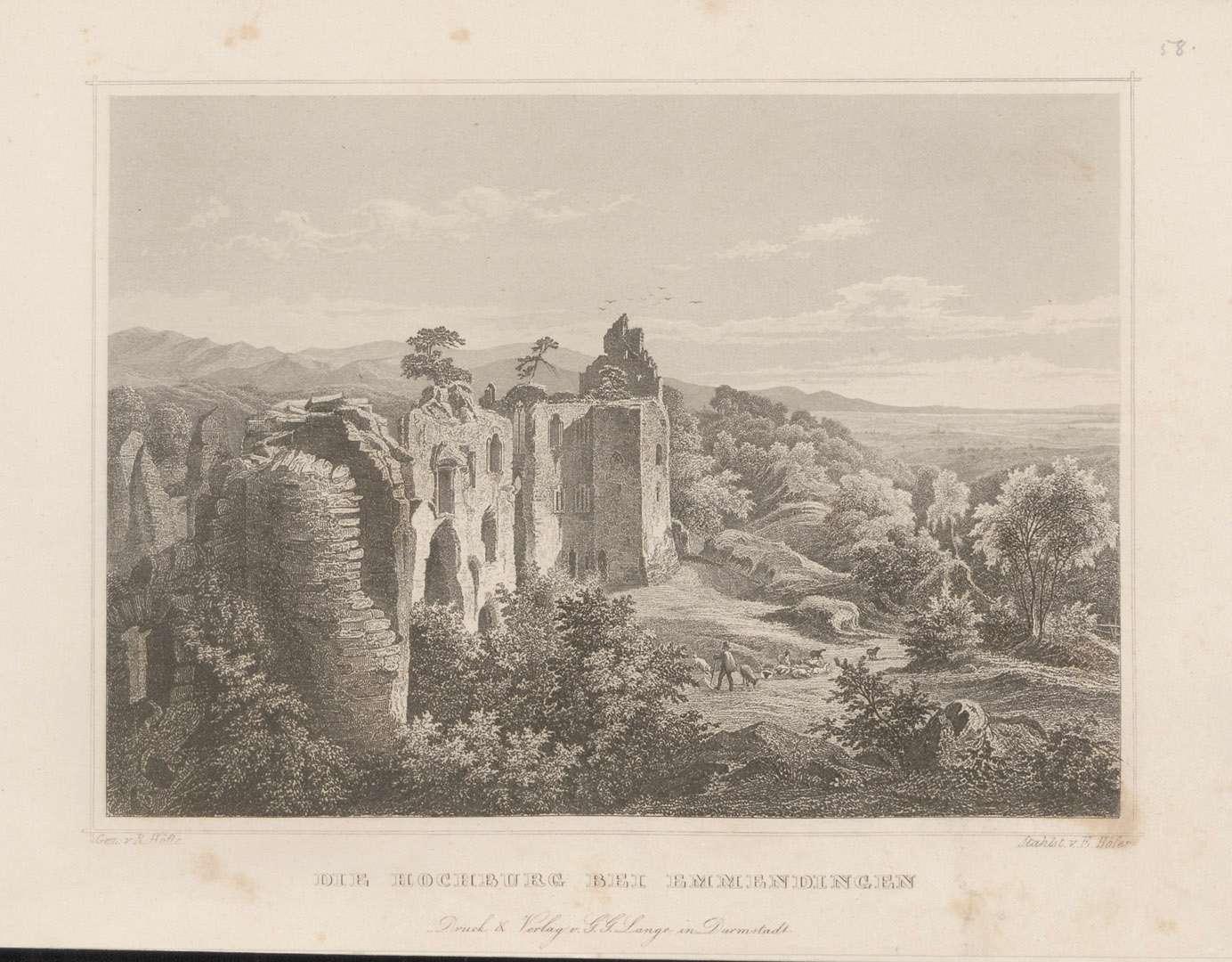 Die Hochburg bei Emmendingen, Bild 1