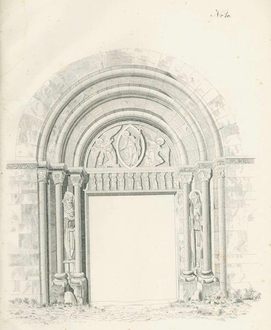 [Die Kirchen in Konstanz: Portal der Klosterkirche von Petershausen], Bild 1