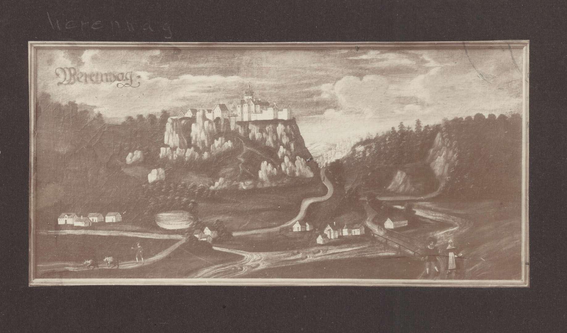 Werenwaag [Schloss Werenwag], Bild 1