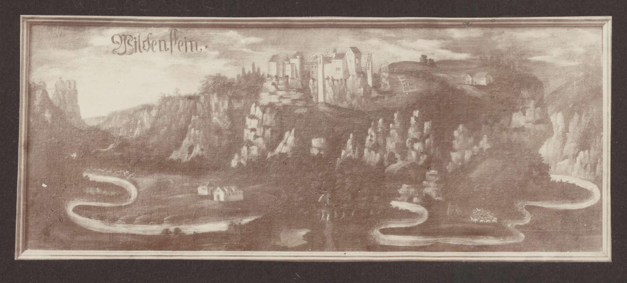 Wildenstein [Burg über dem Donautal], Bild 1