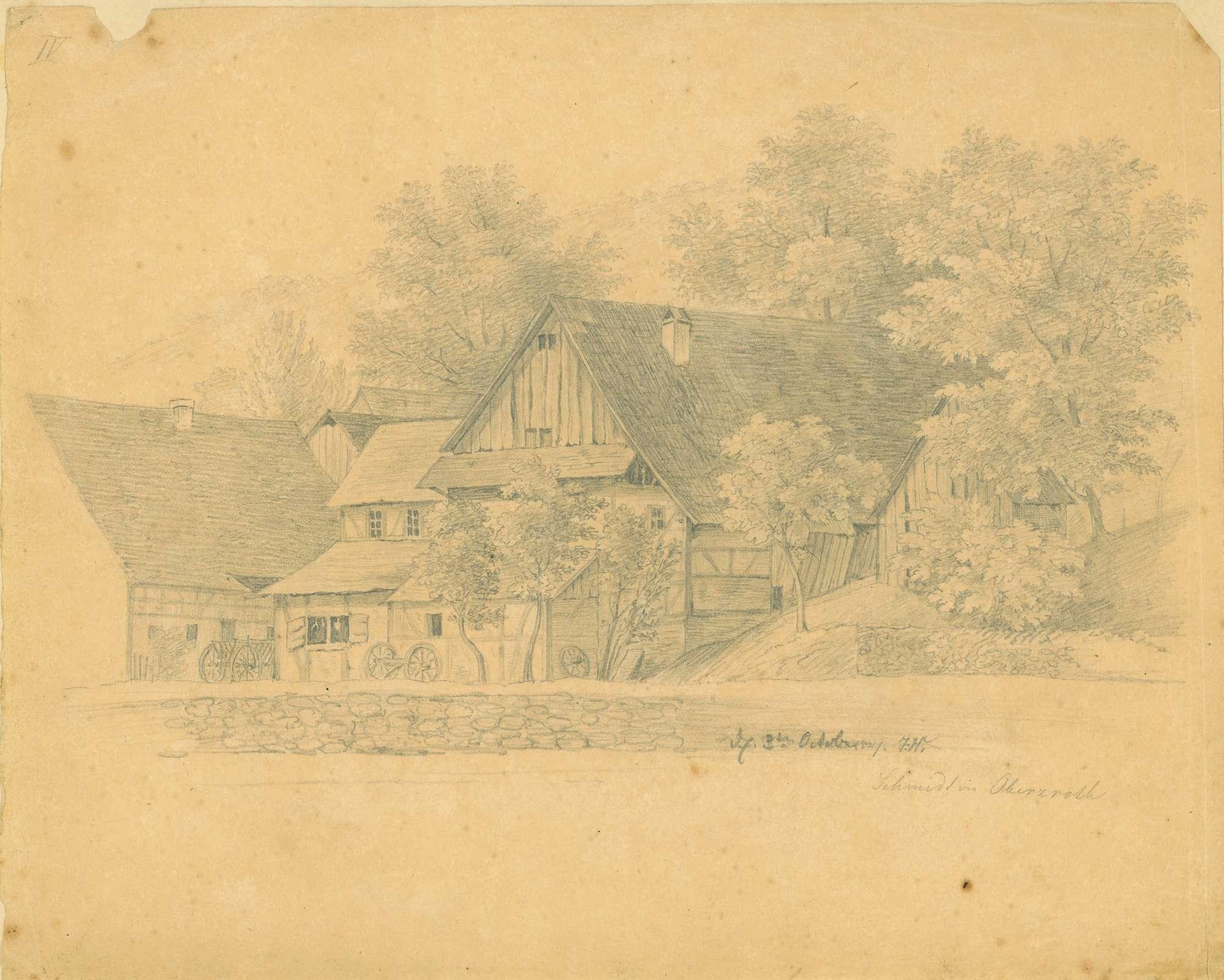 Schmied in Oberzroth, Bild 1