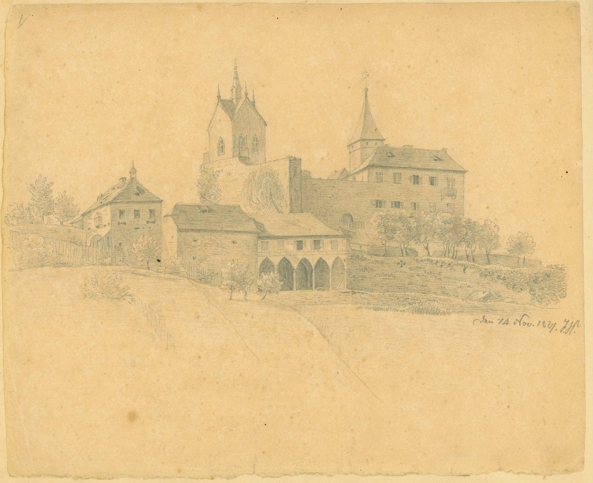 [Schloss Eberstein], Bild 1