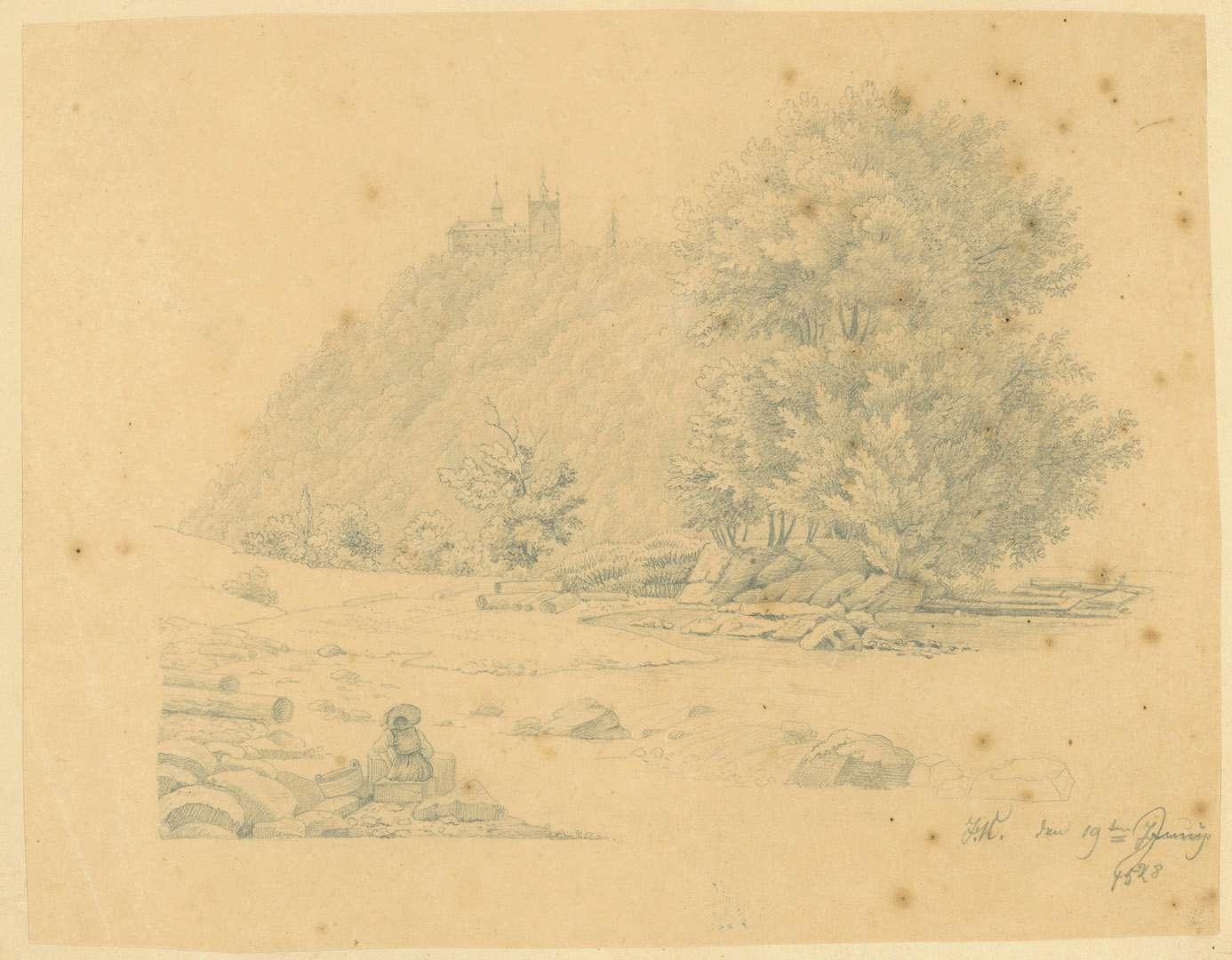 [Blick auf Schloss Eberstein], Bild 1