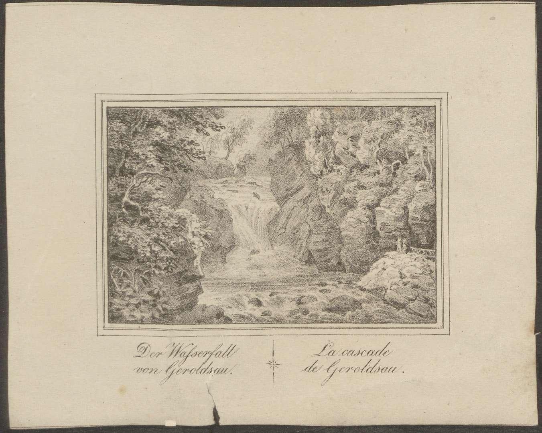 Der Wasserfall von Geroldsau - La cascade de Geroldsau, Bild 1