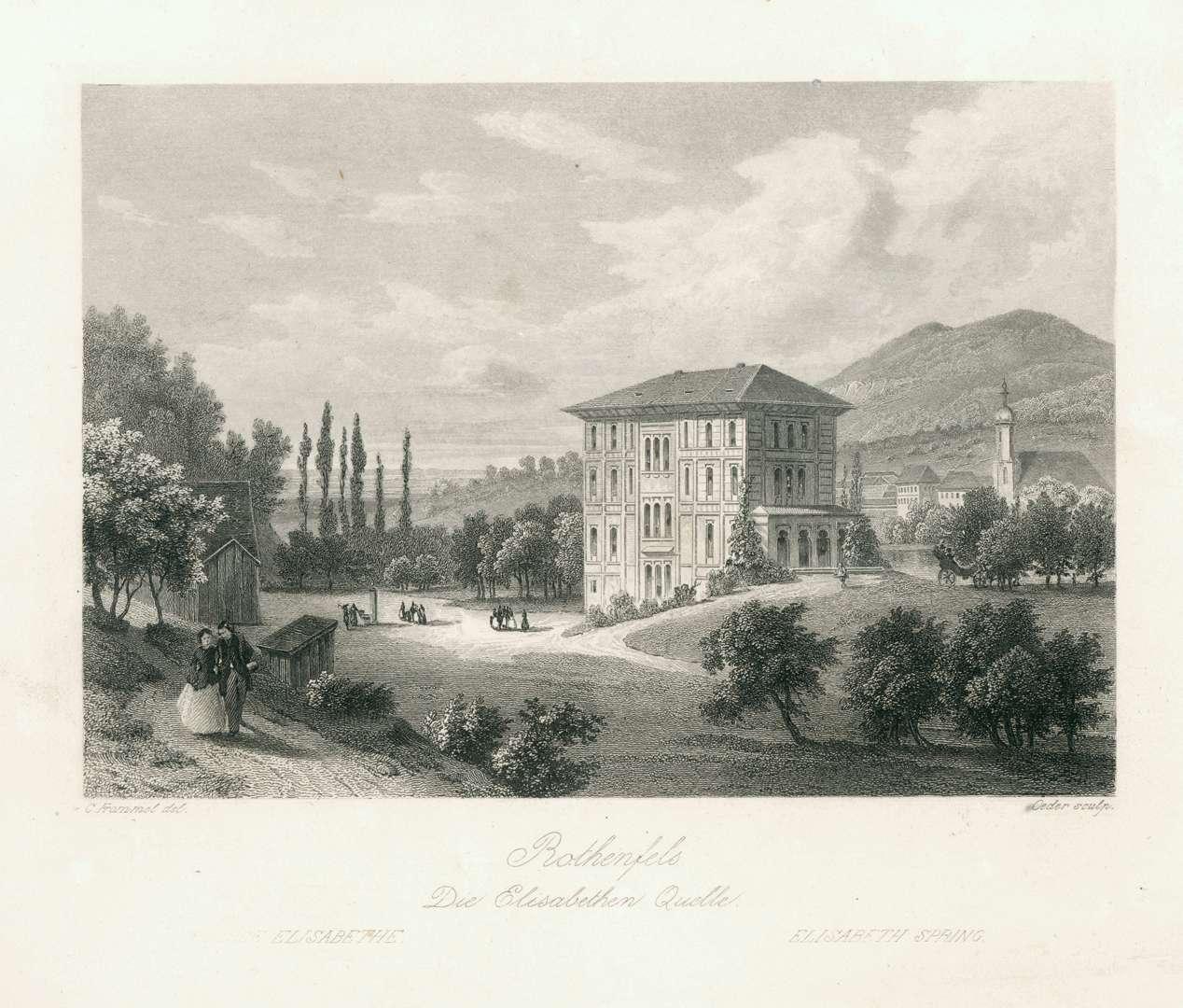 Rothenfels. Die Elisabethen Quelle. Elisabethe. Elisabeth Spring, Bild 1