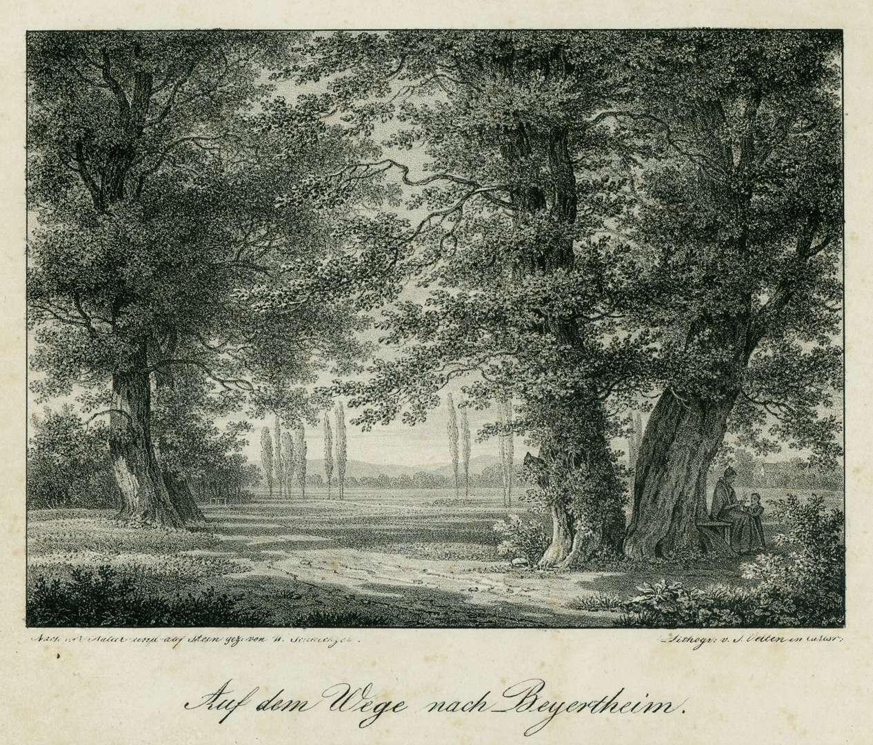Auf dem Wege nach Beyertheim, Bild 1