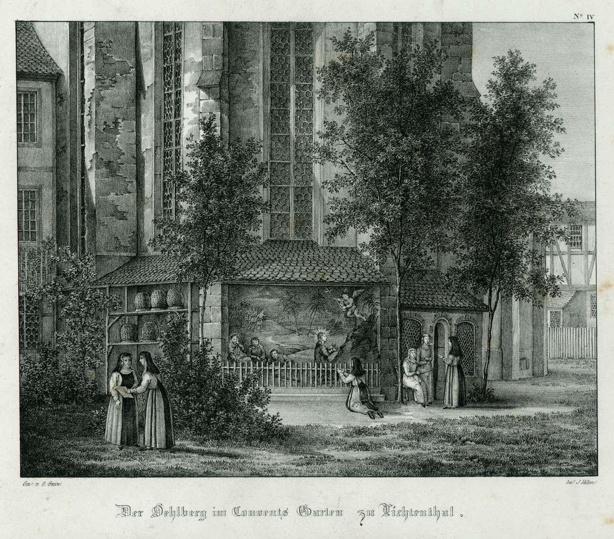 Der Oehlberg im Convents Garten zu Lichtenthal, Bild 1