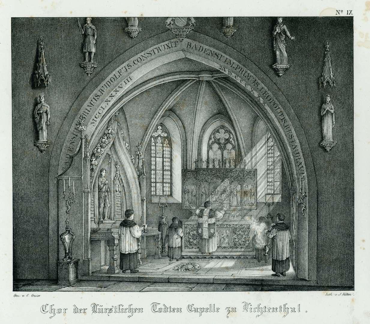 Chor der Fürstlichen Todten Capelle zu Lichtenthal, Bild 1