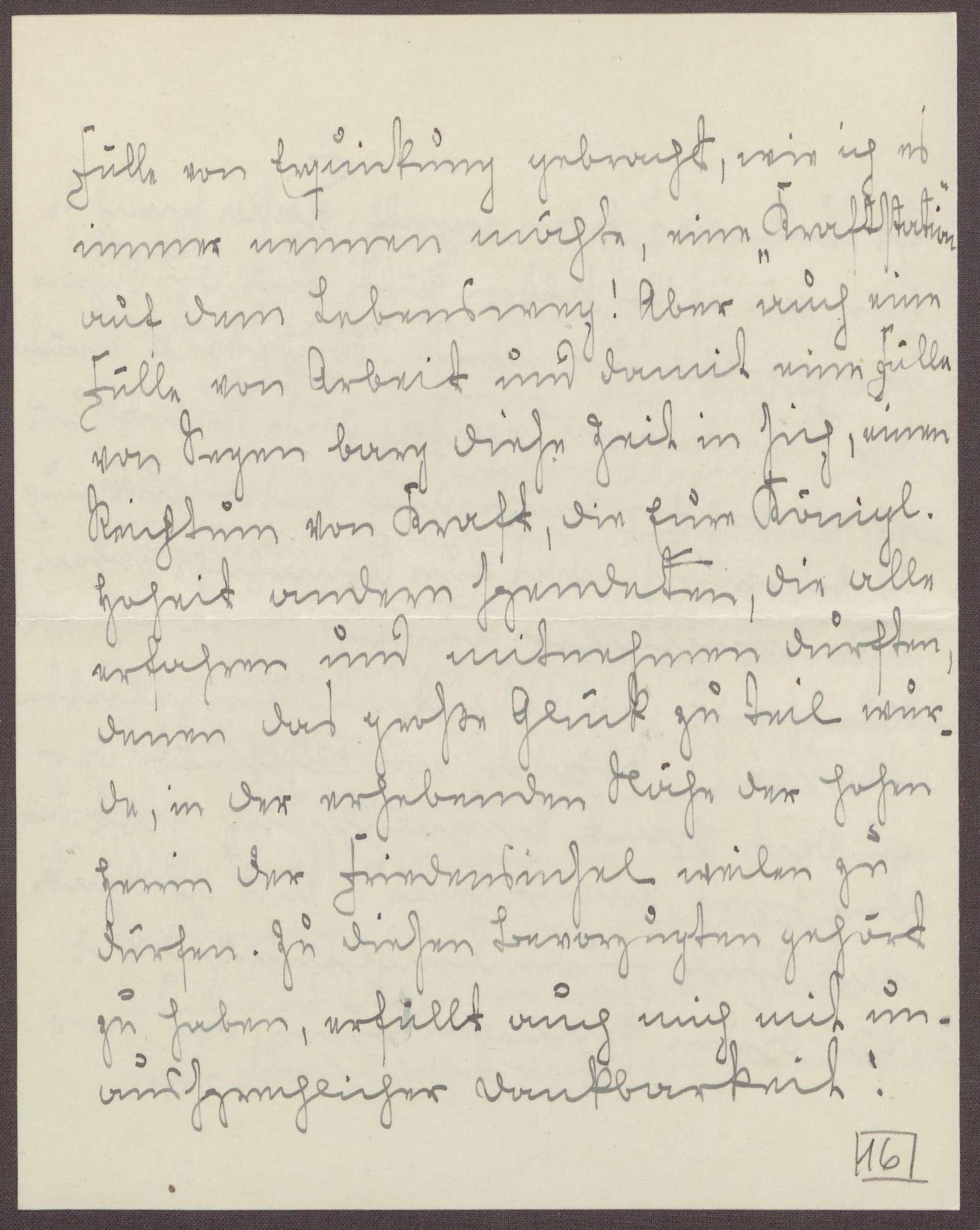 Schreiben von Emilie Göler von Ravensburg an Großherzogin Luise; Erinnerungen an Treffen mit der Großherzogin auf der Insel Mainau, Bild 3