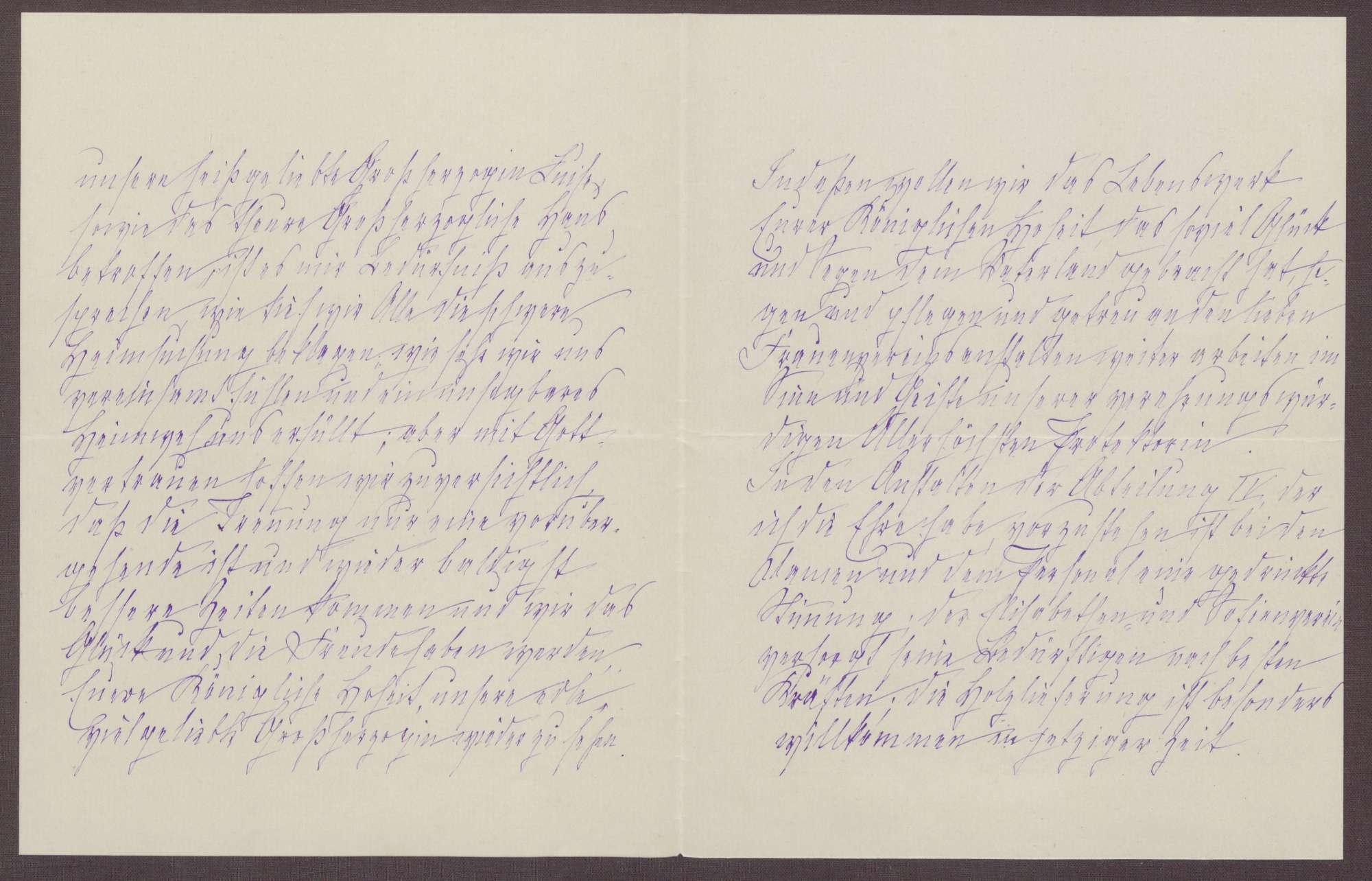 Schreiben von Anna Haas an die Großherzogin Luise; Belegung der Volksküchen, Stimmungslage in dem Heim, Inspektion durch den Soldatenrat, Bild 2